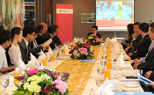 CIMB CARI Breakfast Meeting on Myanmar