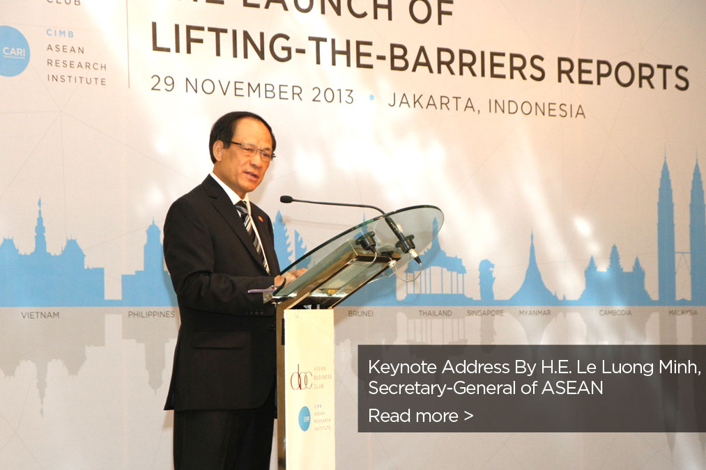 Keynote Address By H.E. Le Luong Minh, Secretary-General of ASEAN