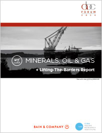 Minerals, Oil and Gas