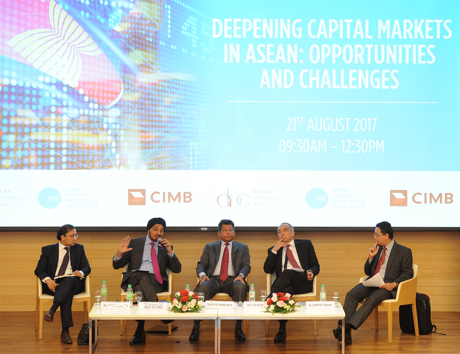 Deepening Capital Markets in ASEAN: Opportunities and Challenges