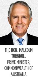 The Hon. Malcolm Turnbull