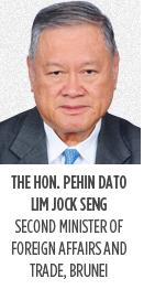 The Hon. Pehin Dato' Lim Jock Seng