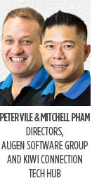 Peter Ville & Mitchell Pham